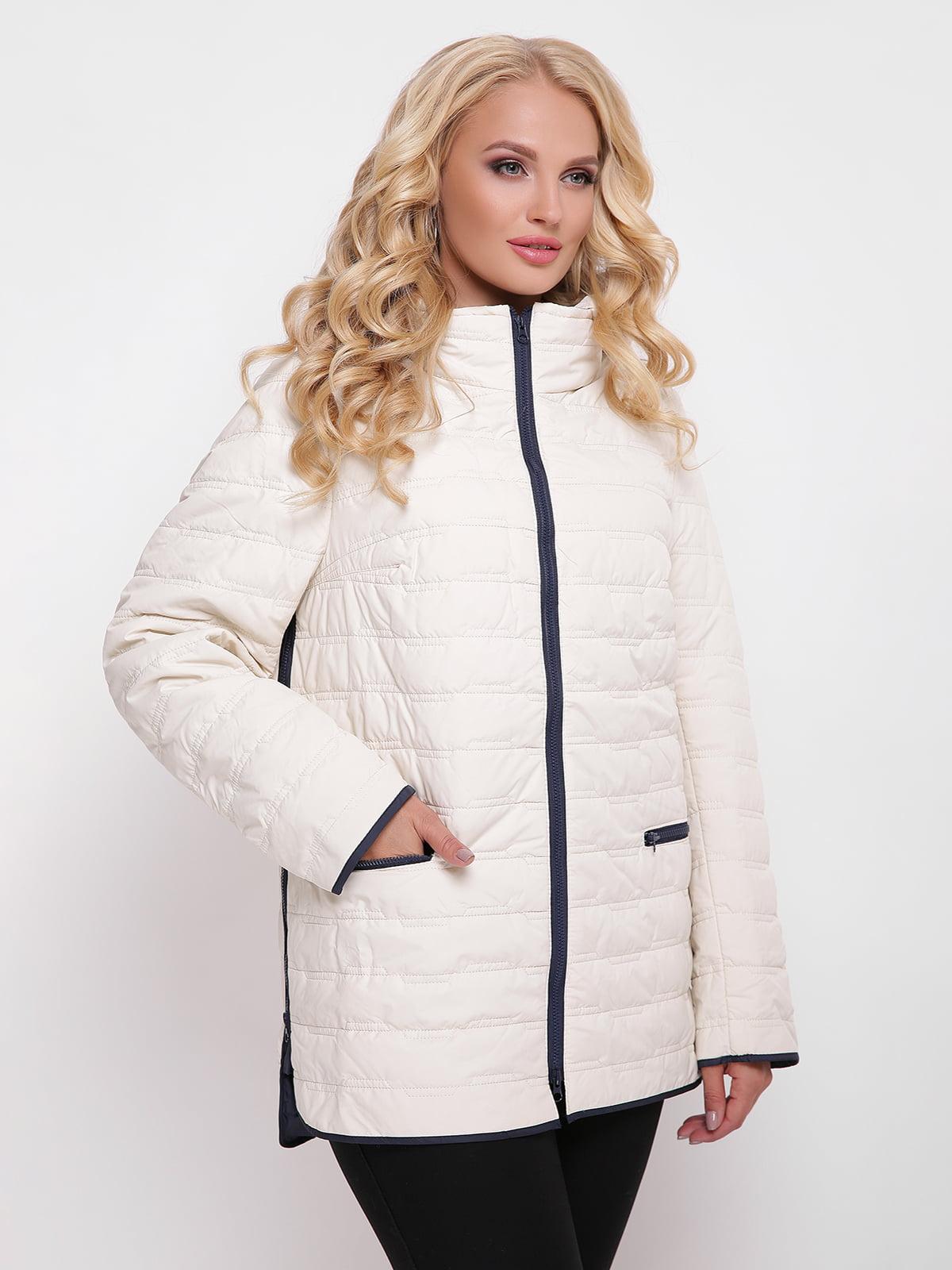 Куртка кольору пудри | 4636016