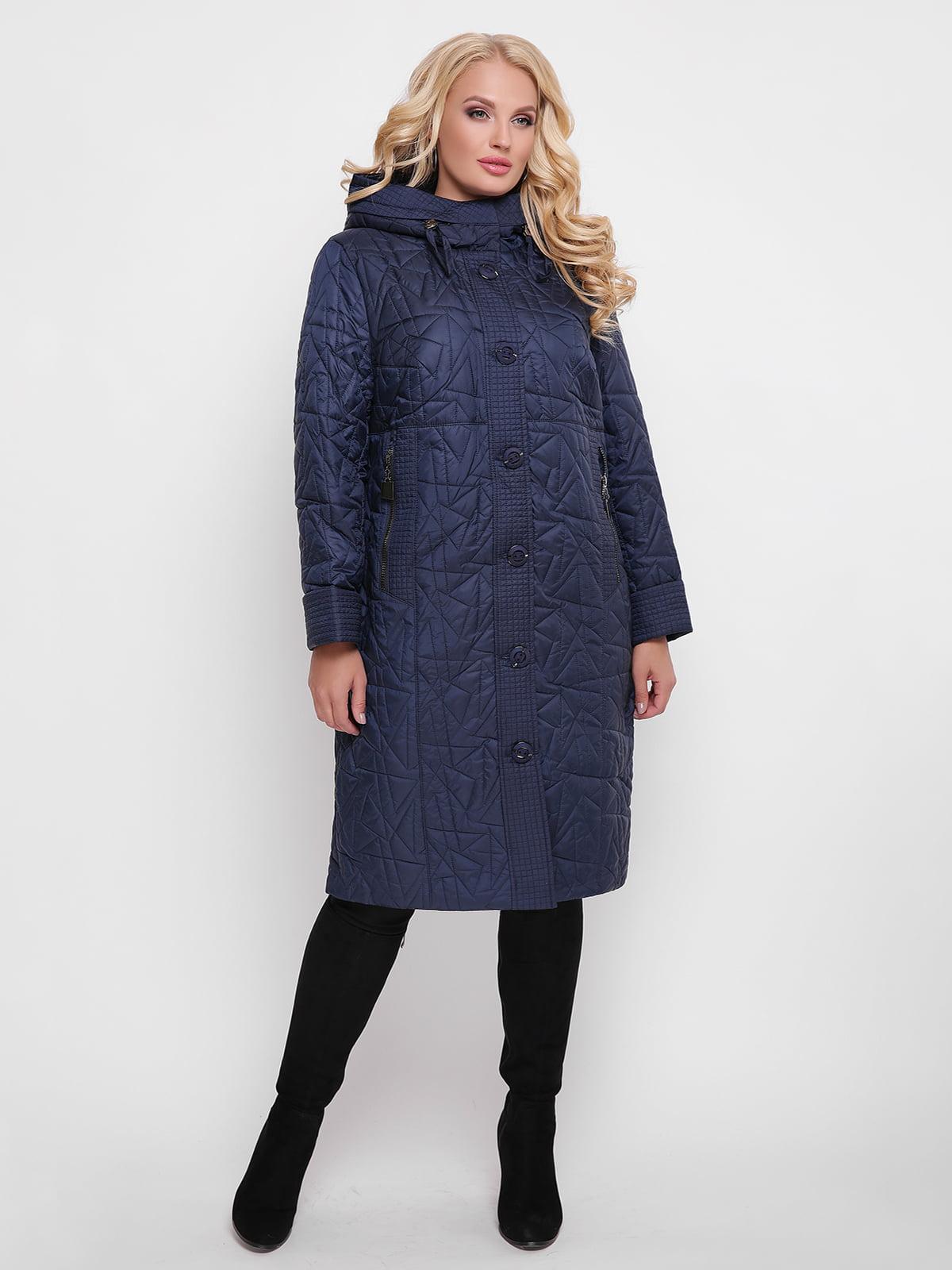 Пальто синее | 4636017