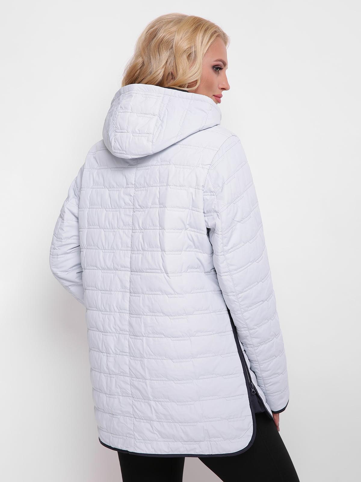 Куртка светло-серая | 4636021 | фото 2