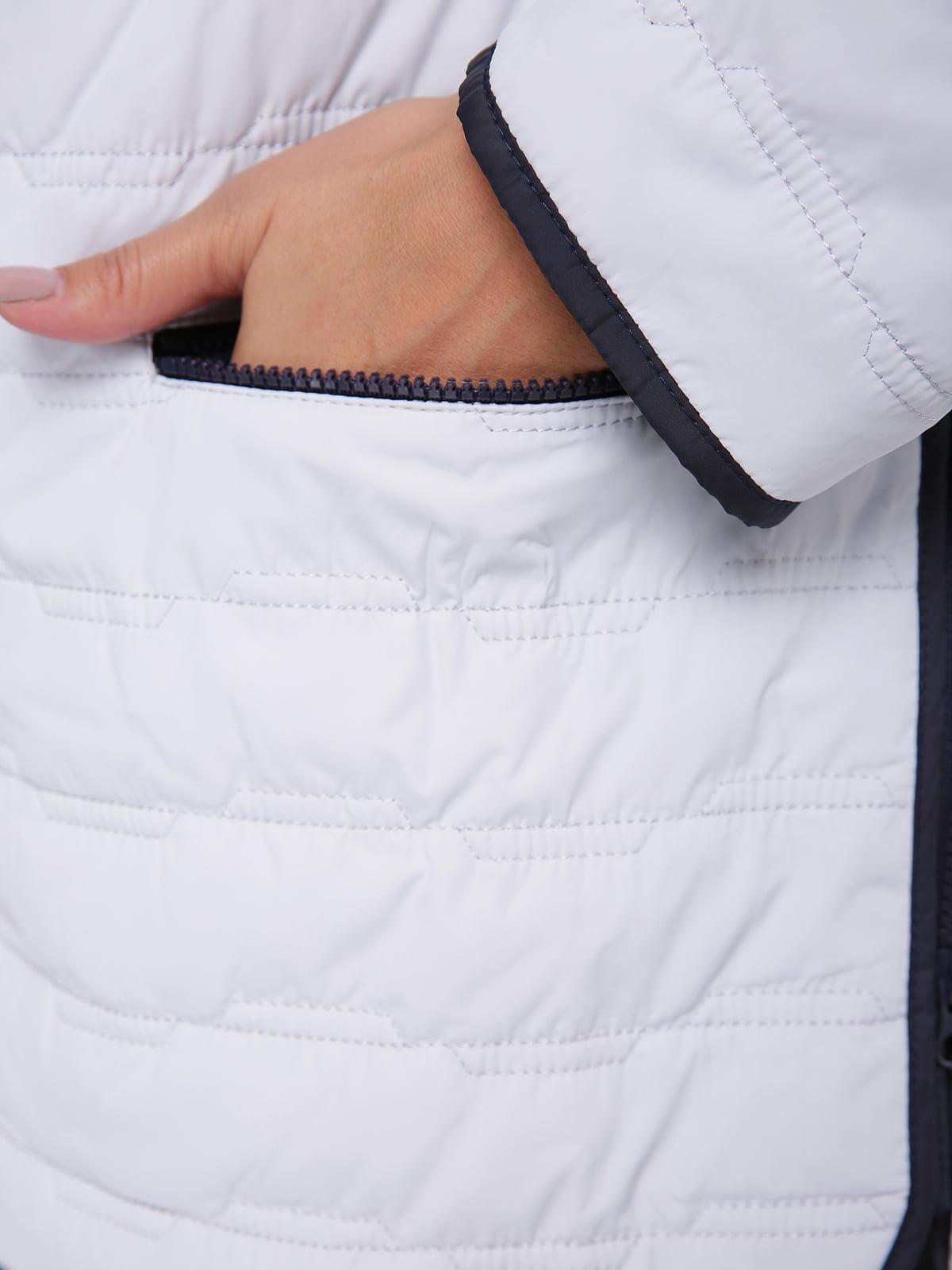 Куртка светло-серая | 4636021 | фото 3