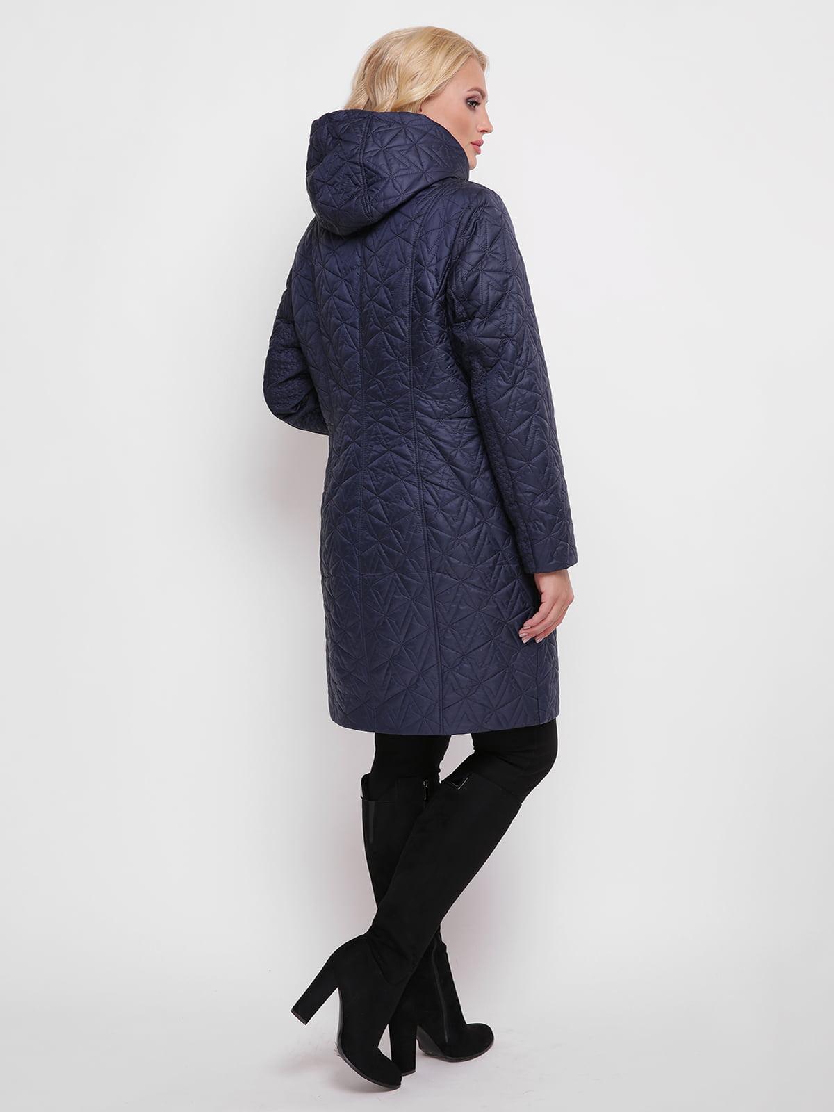 Пальто синее | 4636023 | фото 2
