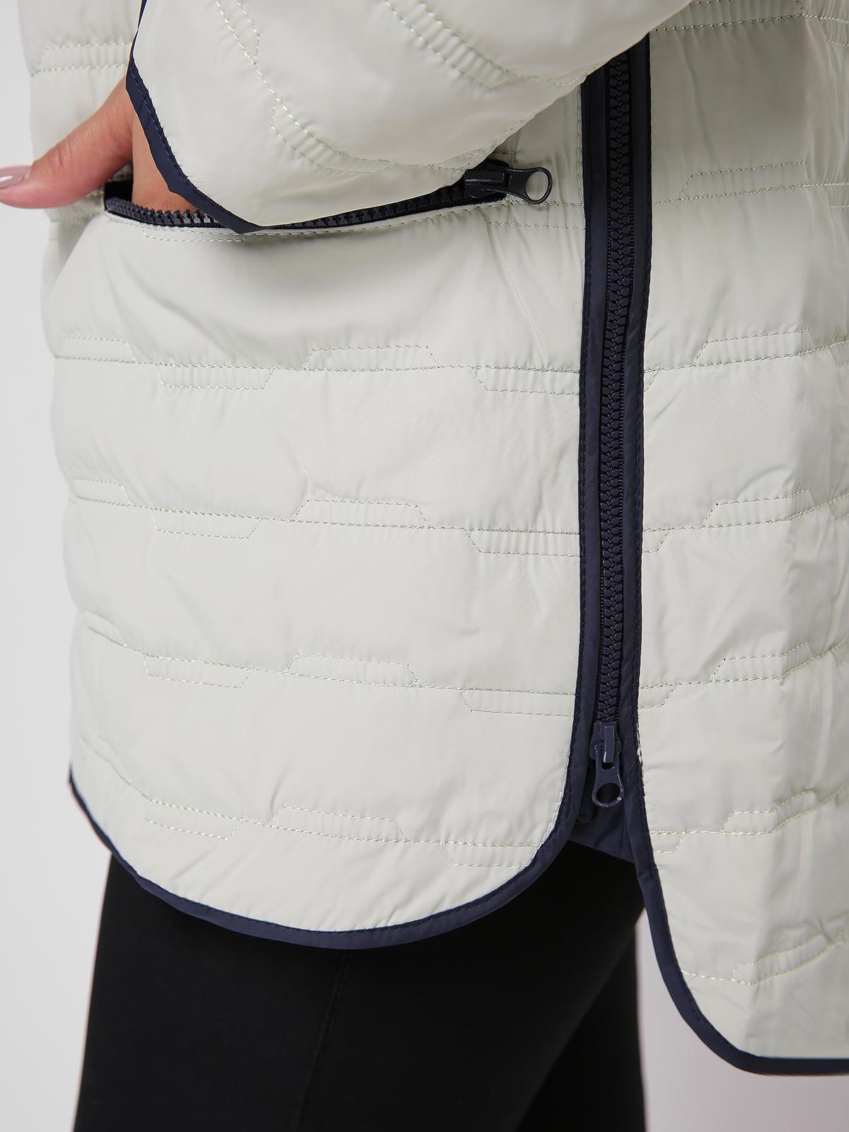 Куртка оливкового цвета   4636025   фото 3