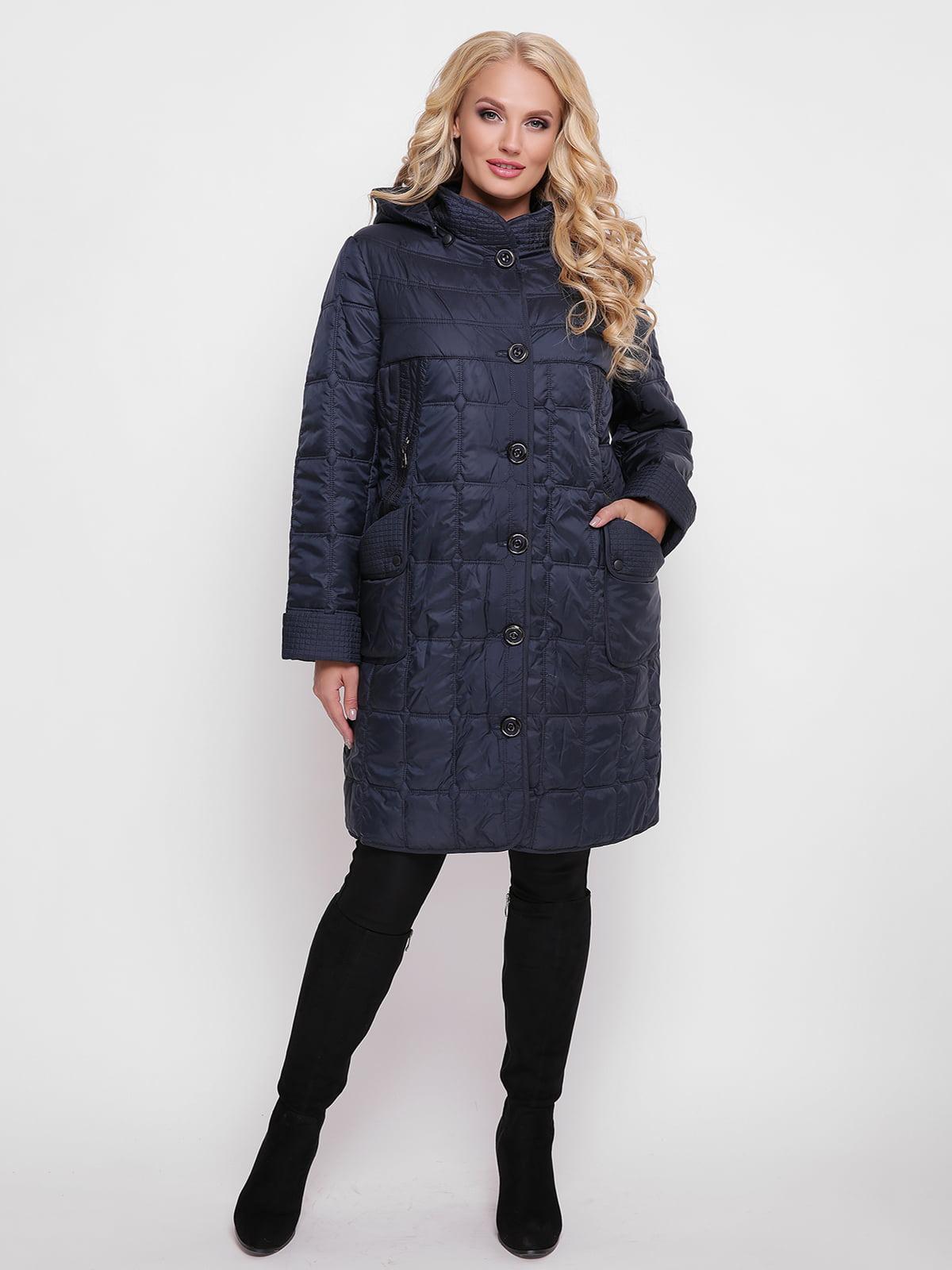Пальто синє | 4636029