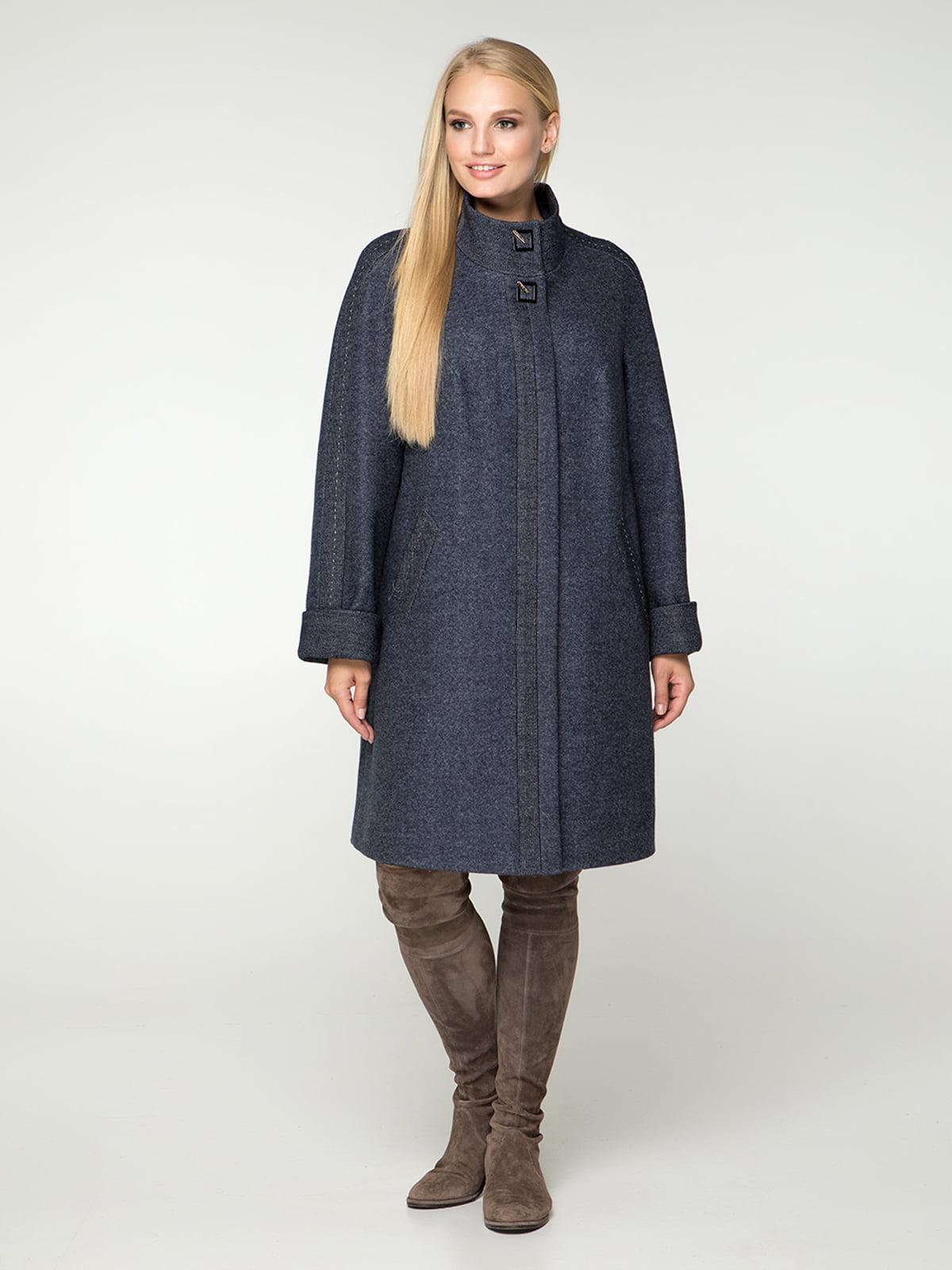 Пальто синє | 4632645