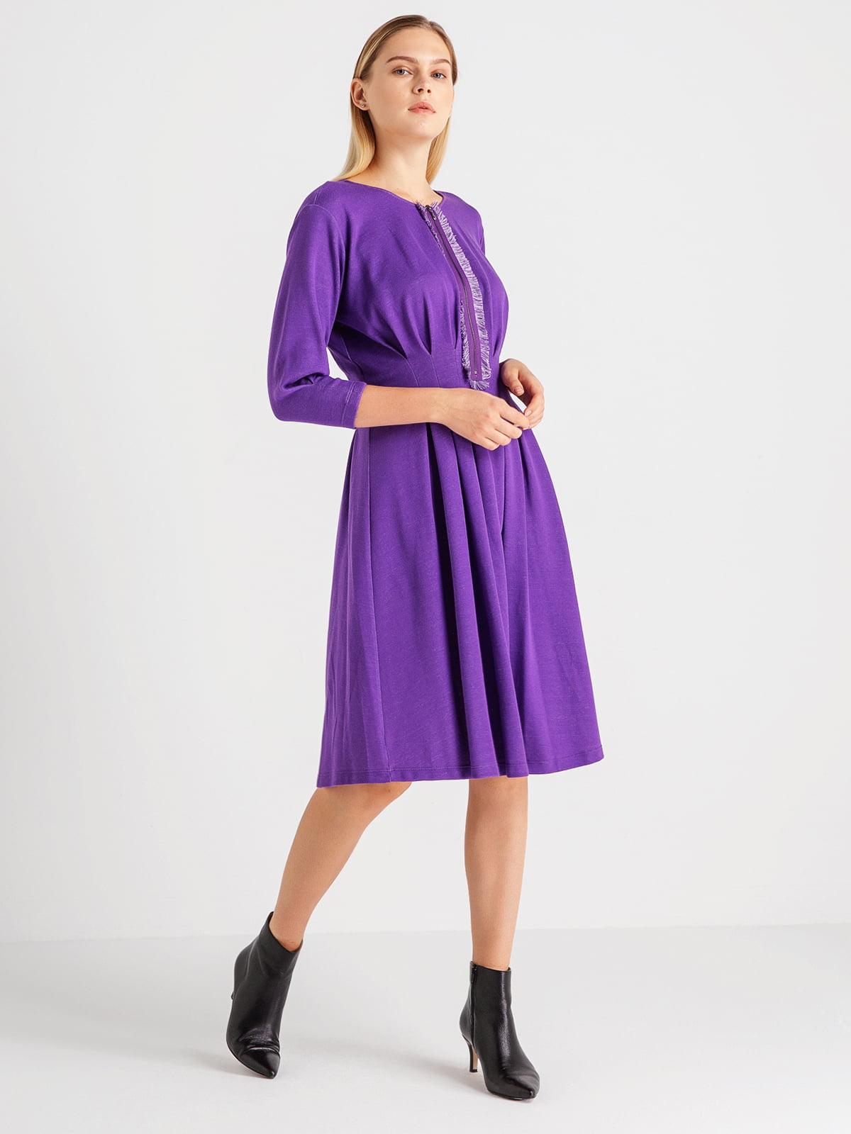 Сукня фіолетова | 4641958