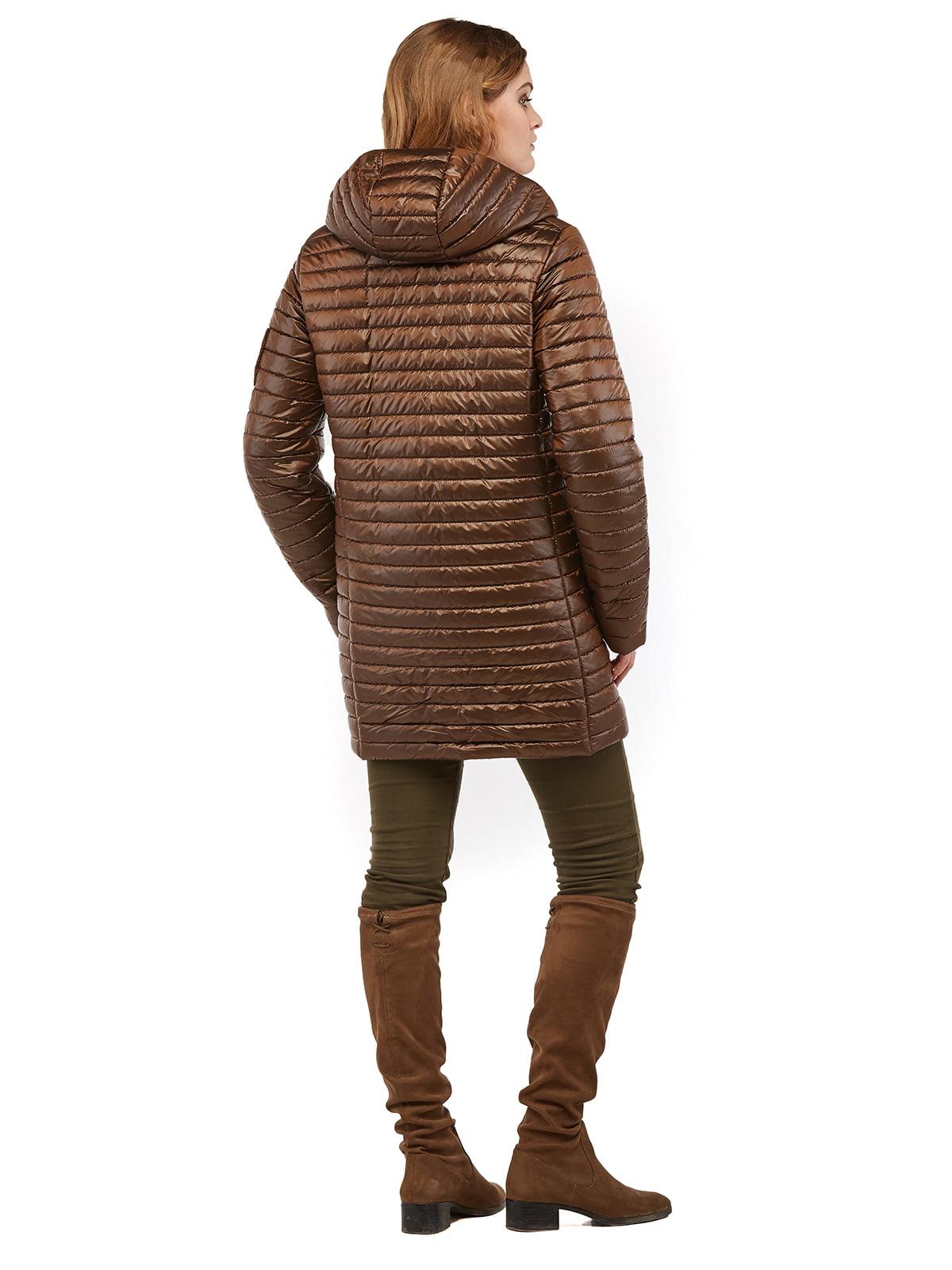 Куртка коричнева | 3043206 | фото 4