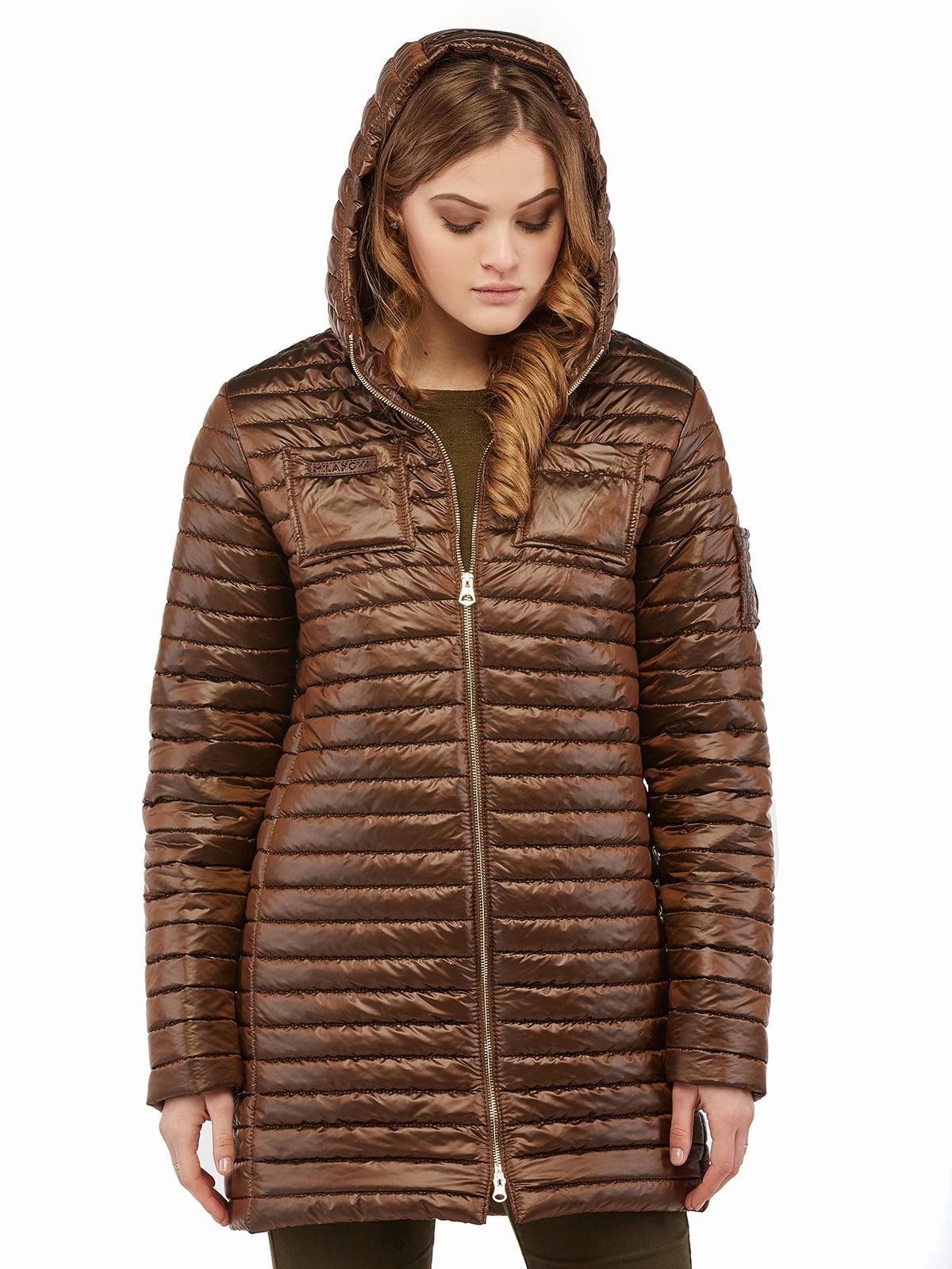 Куртка коричнева | 3043206 | фото 5
