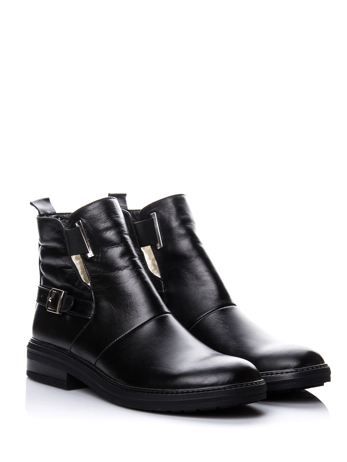 Ботинки черные | 4643282