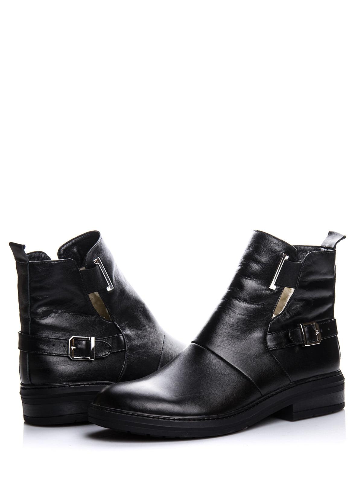 Ботинки черные | 4643282 | фото 2
