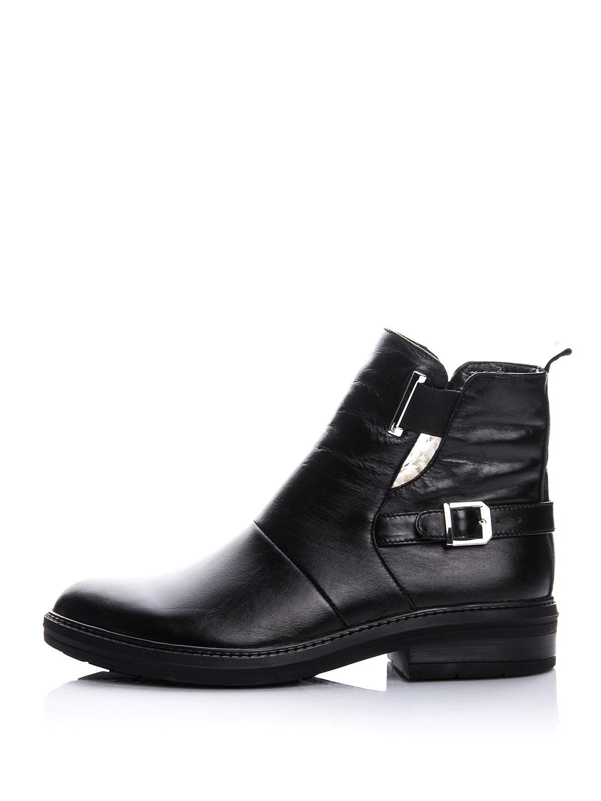 Ботинки черные | 4643282 | фото 3