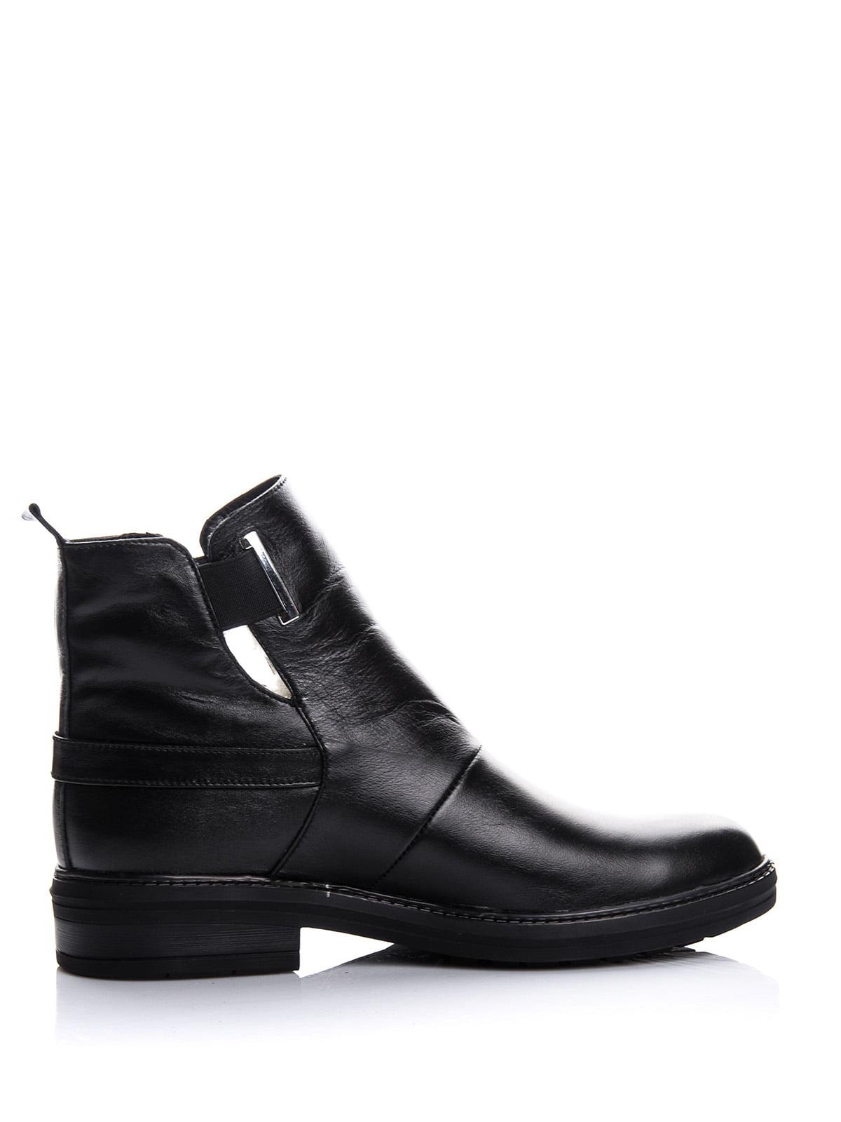 Ботинки черные | 4643282 | фото 4