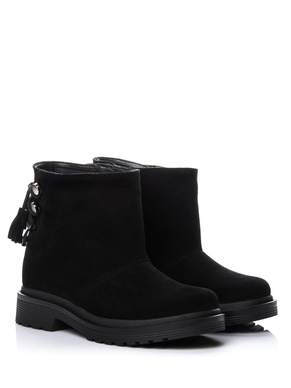 Ботинки черные | 4643291