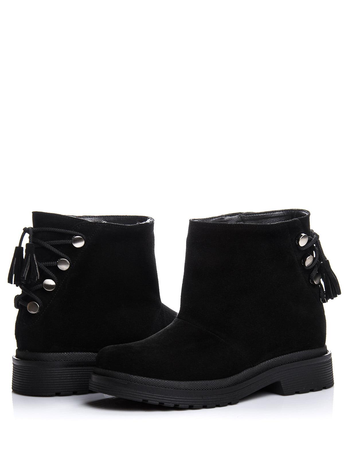 Ботинки черные | 4643291 | фото 2