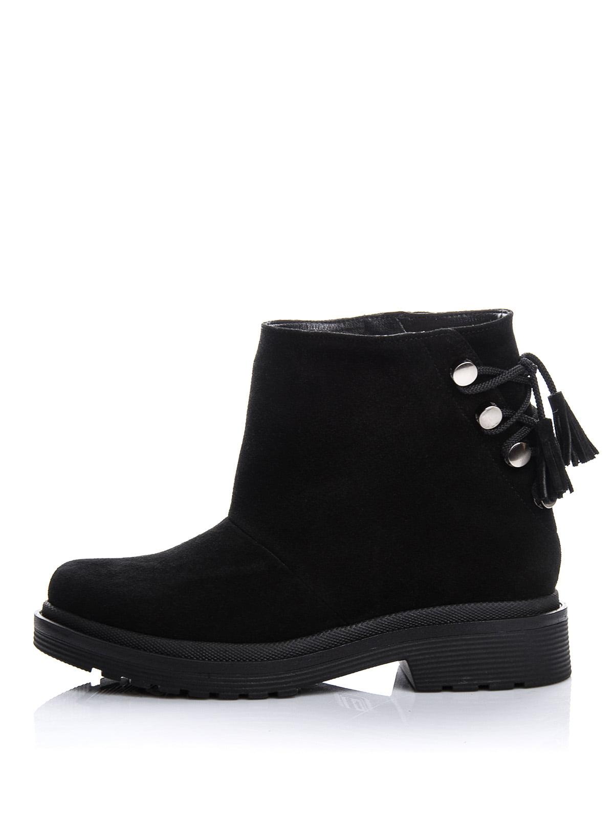 Ботинки черные | 4643291 | фото 3