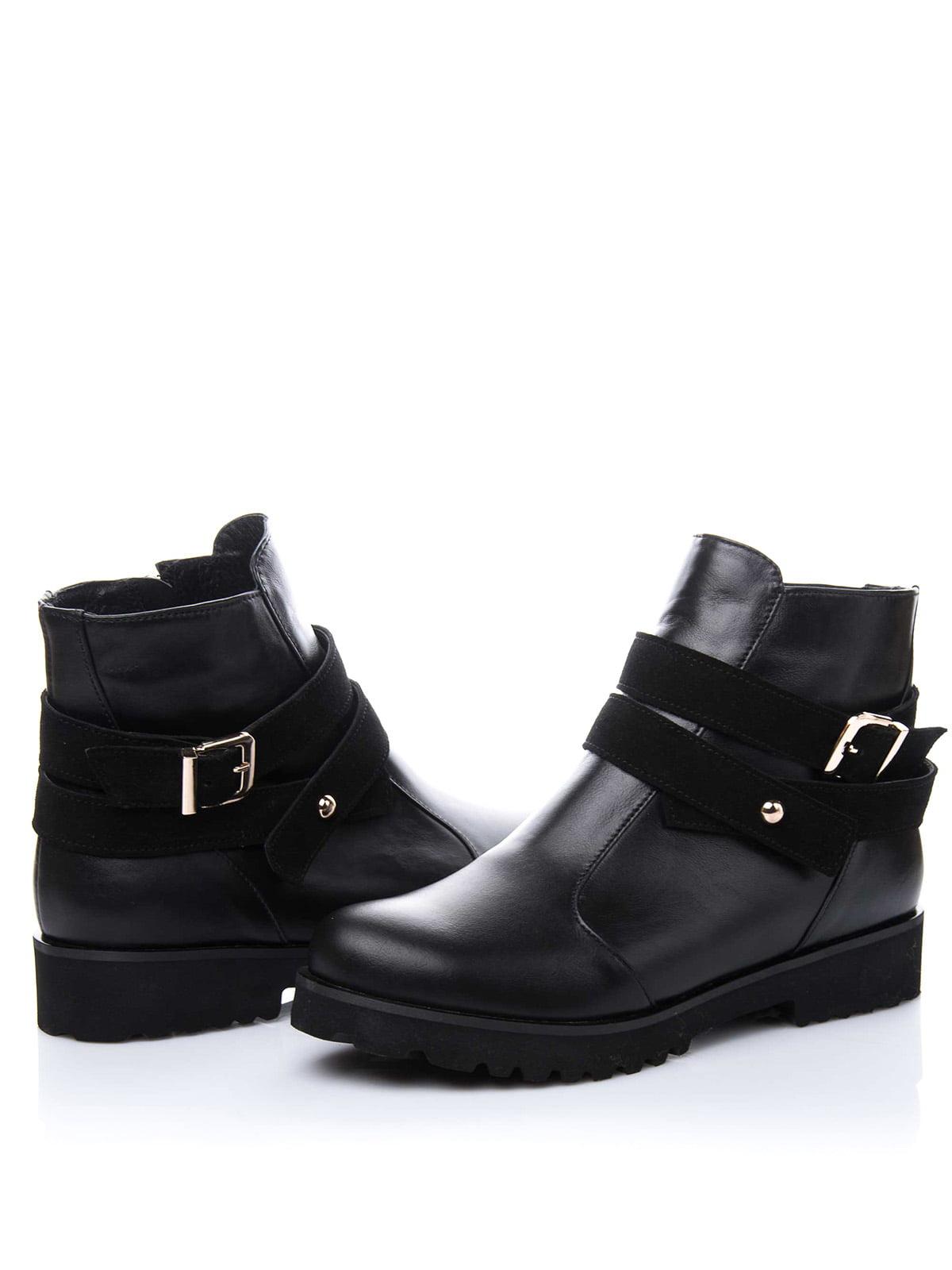 Ботинки черные | 1987215 | фото 2