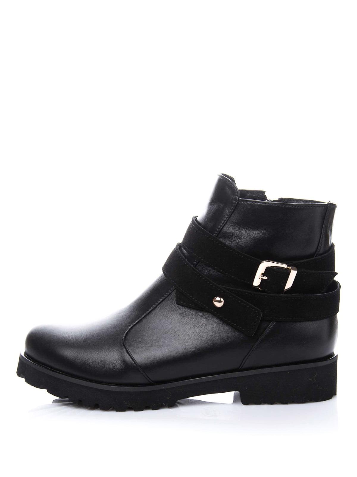 Ботинки черные | 1987215 | фото 3