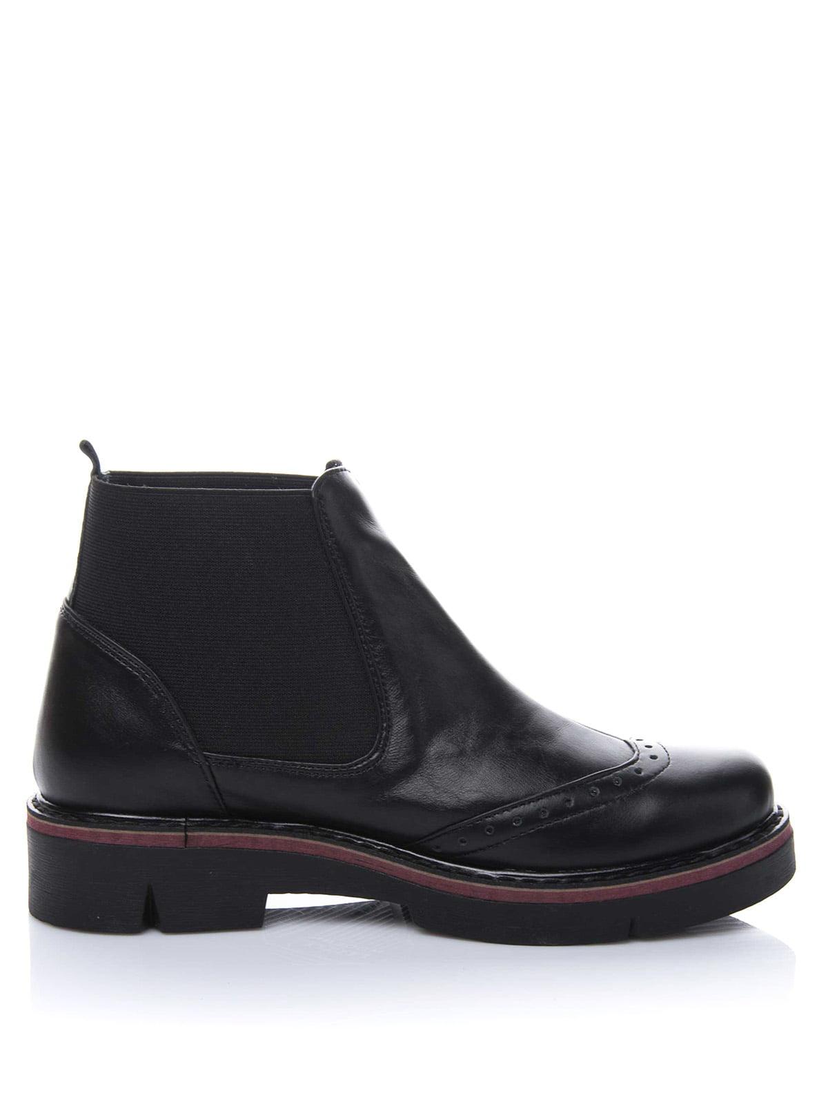 Ботинки черные | 3656744 | фото 4
