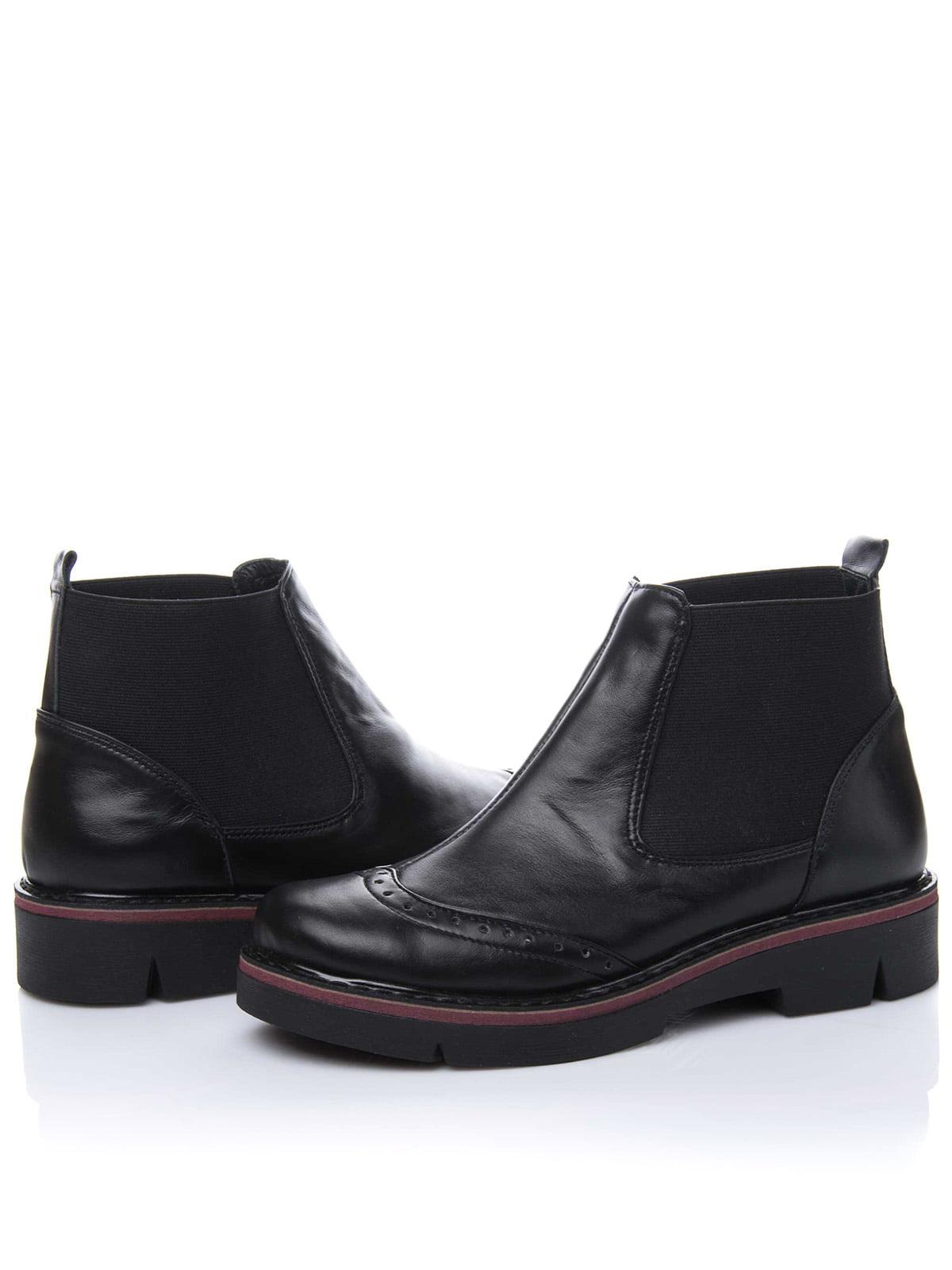 Ботинки черные | 3656745 | фото 2
