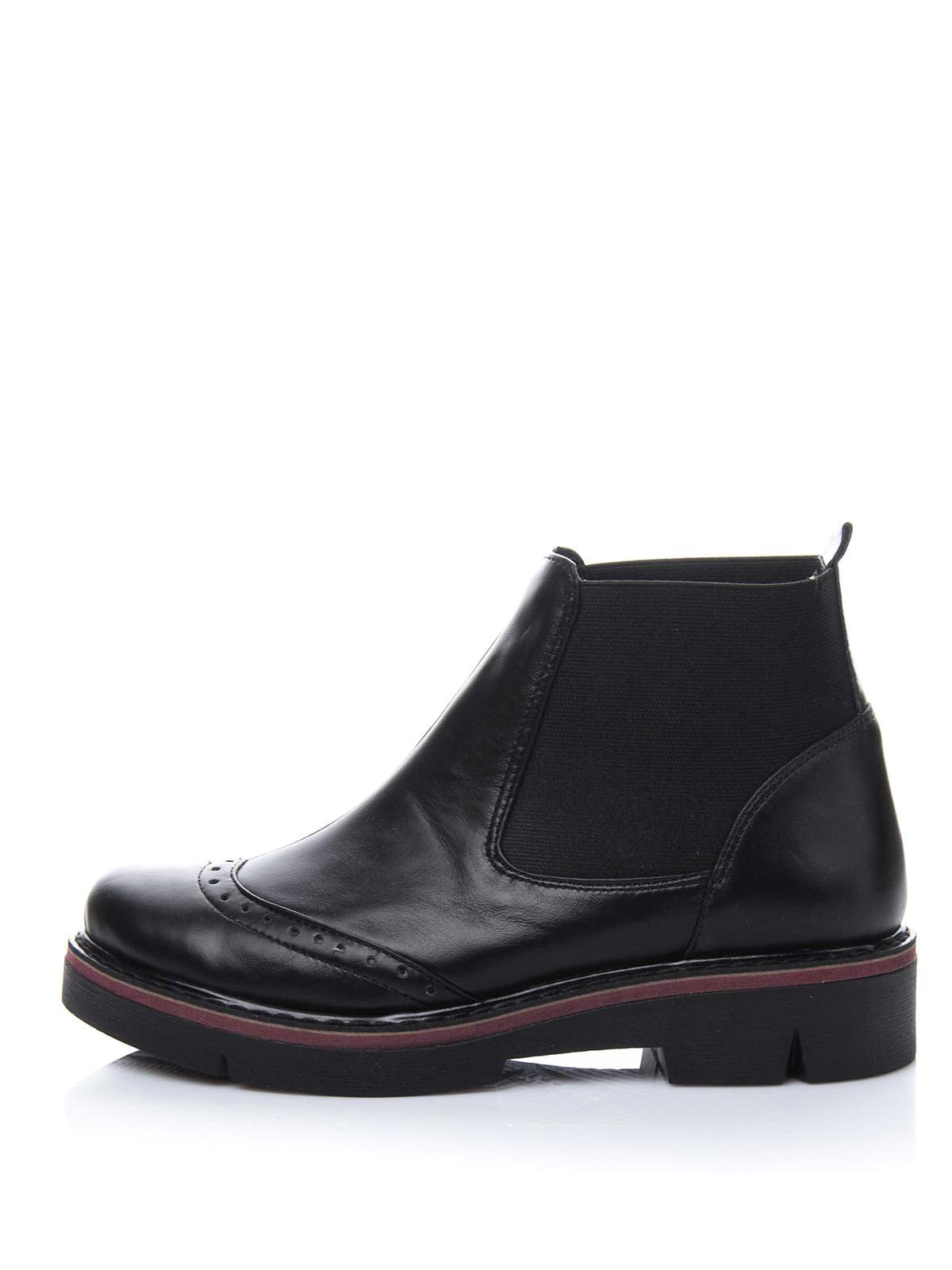 Ботинки черные | 3656745 | фото 3