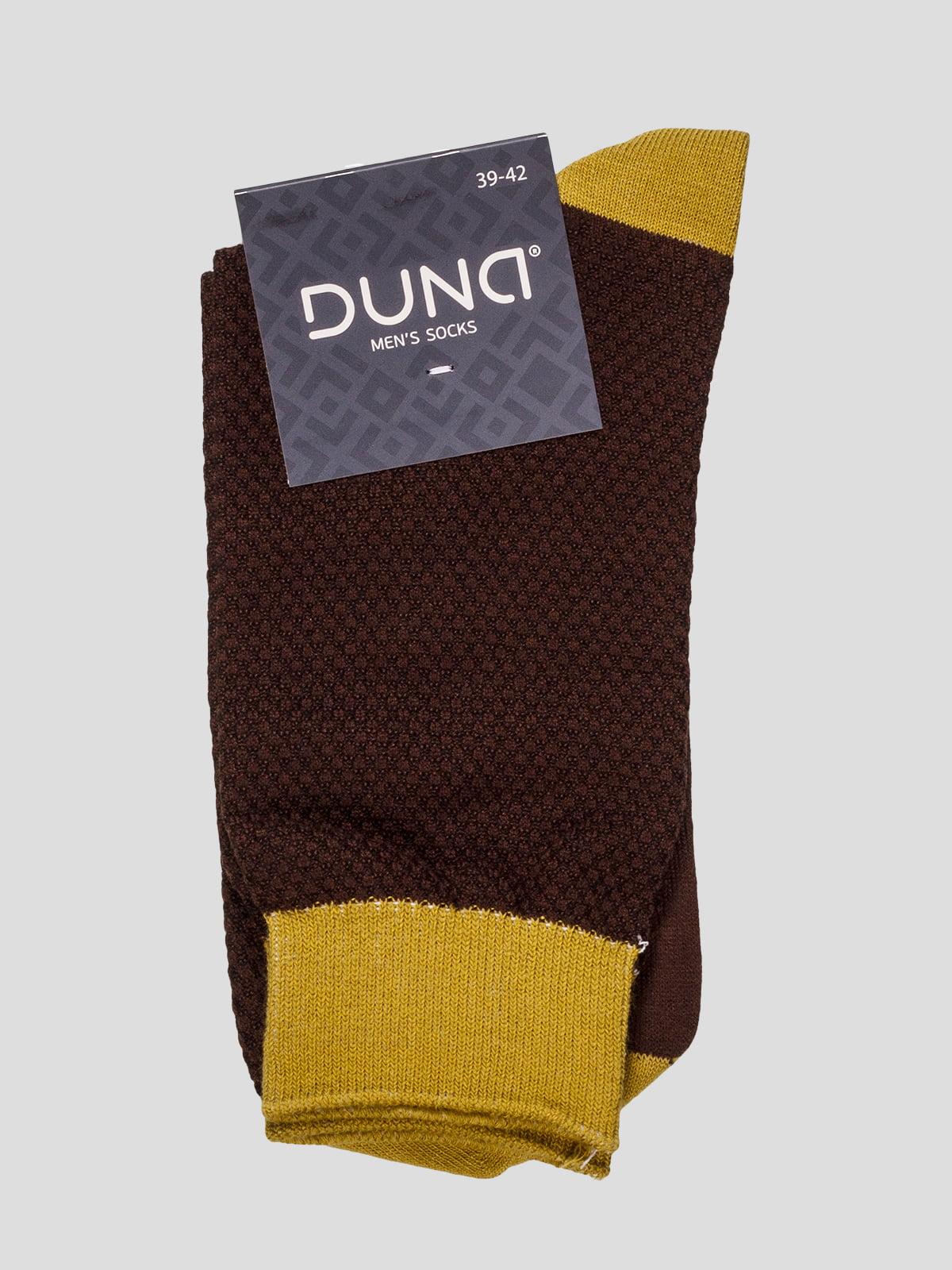 Шкарпетки коричневі | 4568349