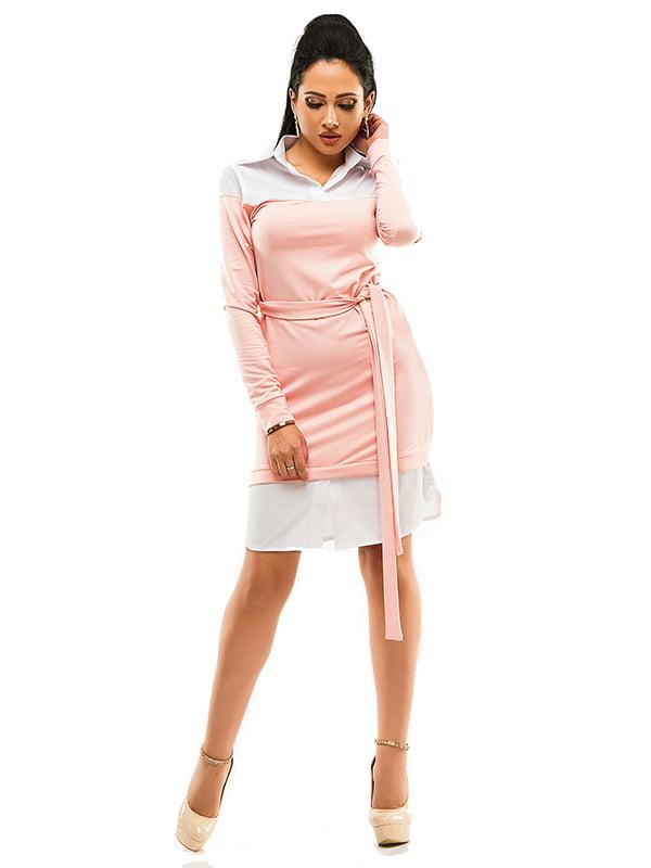 Сукня двоколірна   4613558