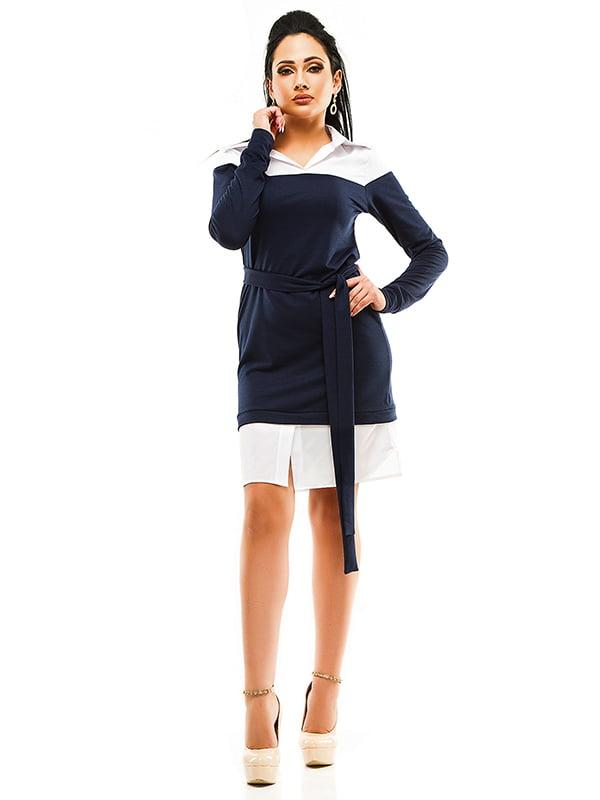 Сукня двоколірна | 4613560