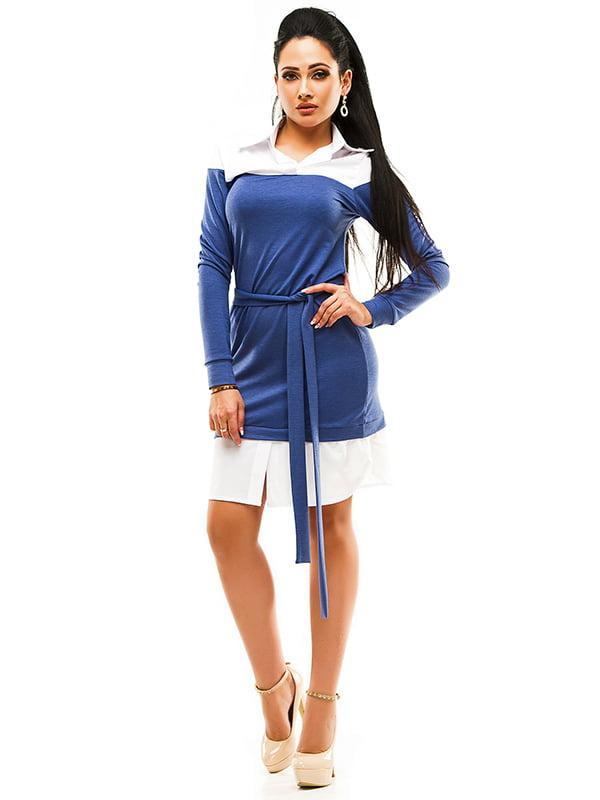 Сукня двоколірна | 4613562