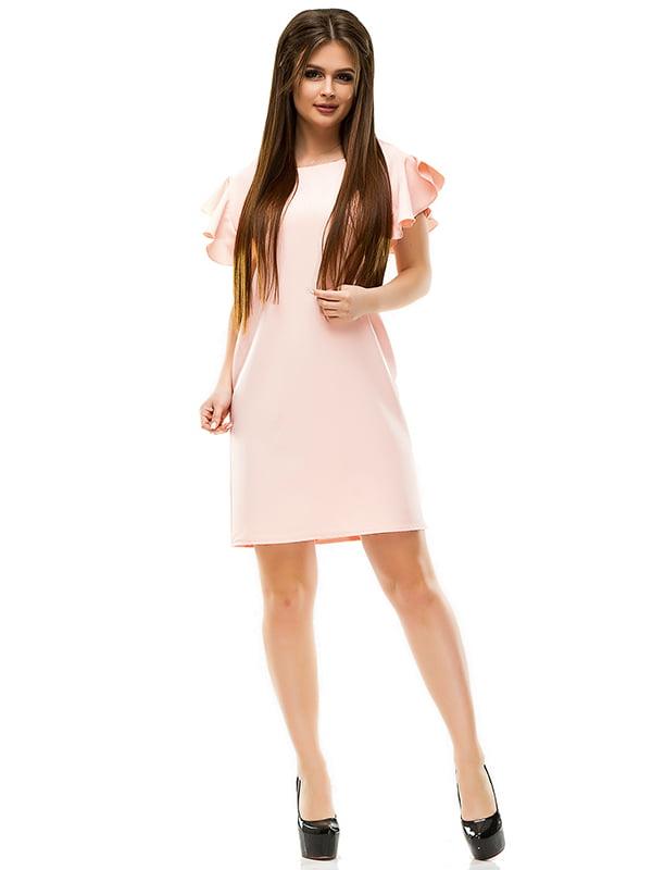Сукня кольору пудри | 4613710