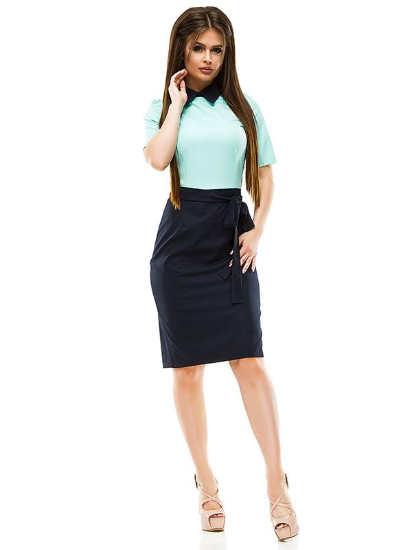 Сукня двоколірна   4613802