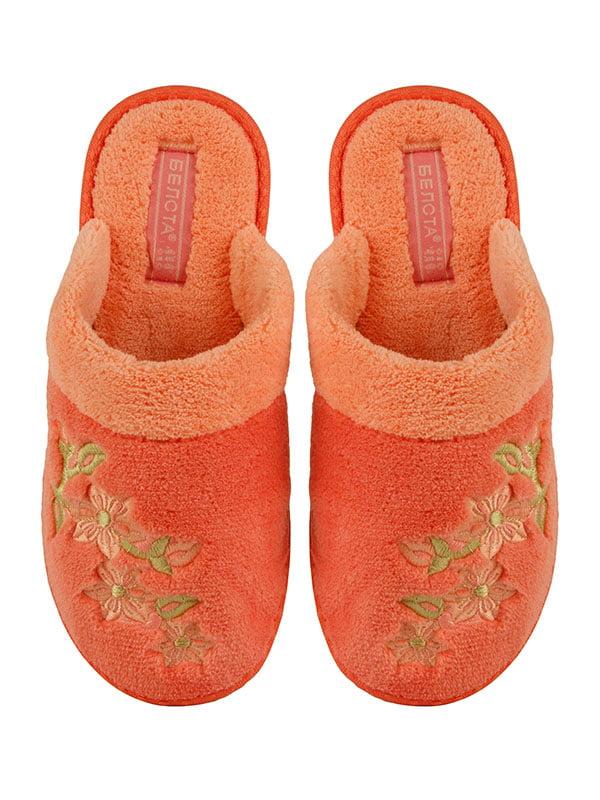 Тапочки персиковые | 4645703