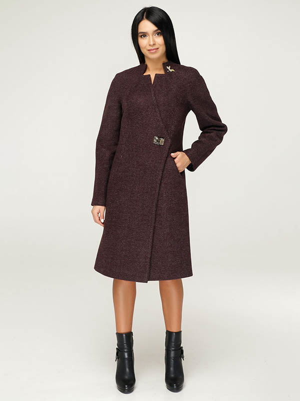 Пальто коричневе   4643481