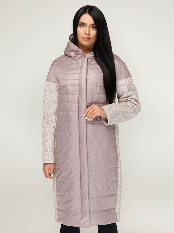 Пальто пудрово-белое | 4643498 | фото 2