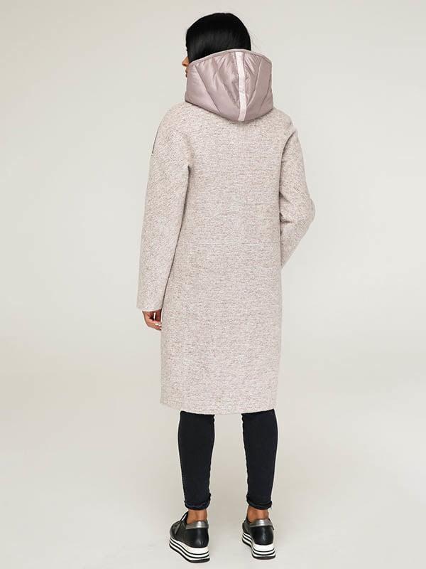 Пальто пудрово-белое | 4643498 | фото 3