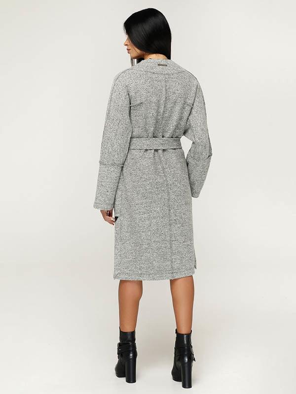 Пальто серое   4643514   фото 3