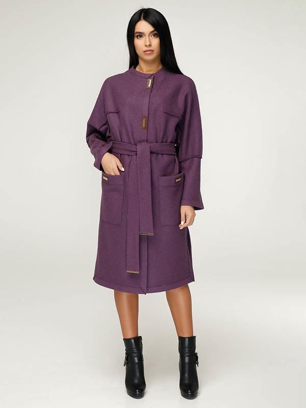 Пальто фіолетове   4643520