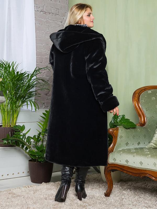 Шуба черная | 4649382 | фото 3
