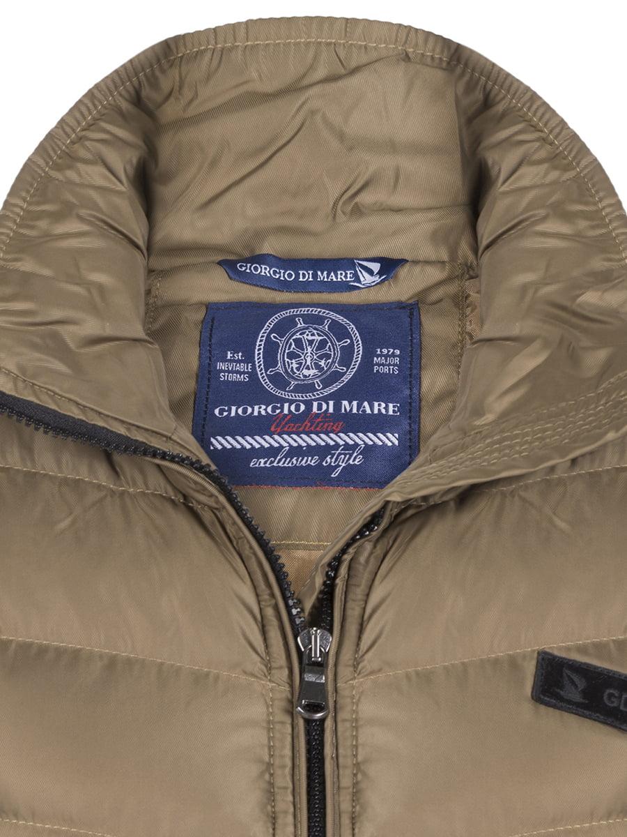 Куртка цвета хаки | 4592973 | фото 2