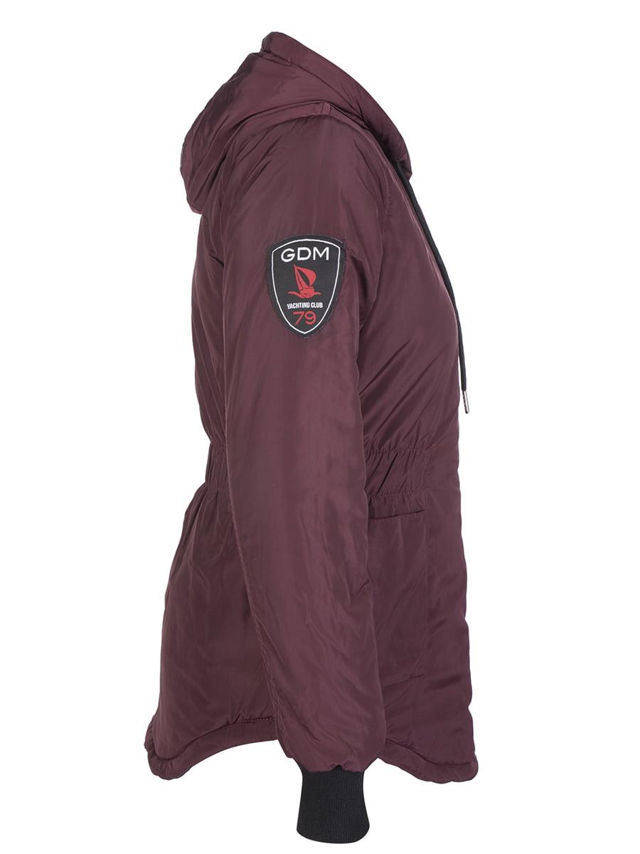 Куртка бордовая | 4592976 | фото 3
