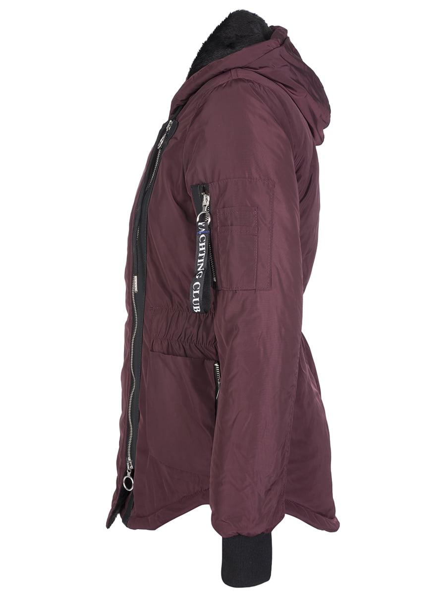 Куртка бордовая | 4592976 | фото 4