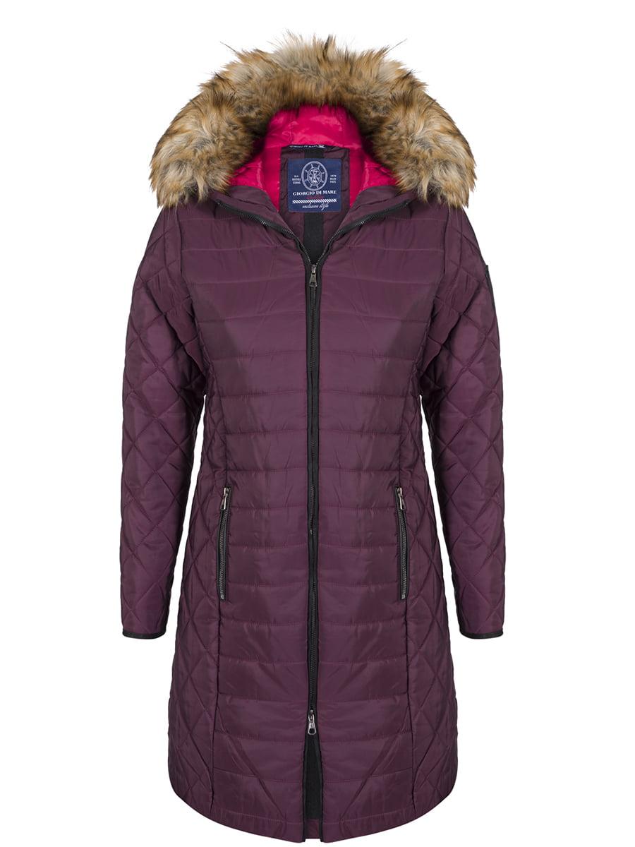 Пальто кольору марсала | 4593013
