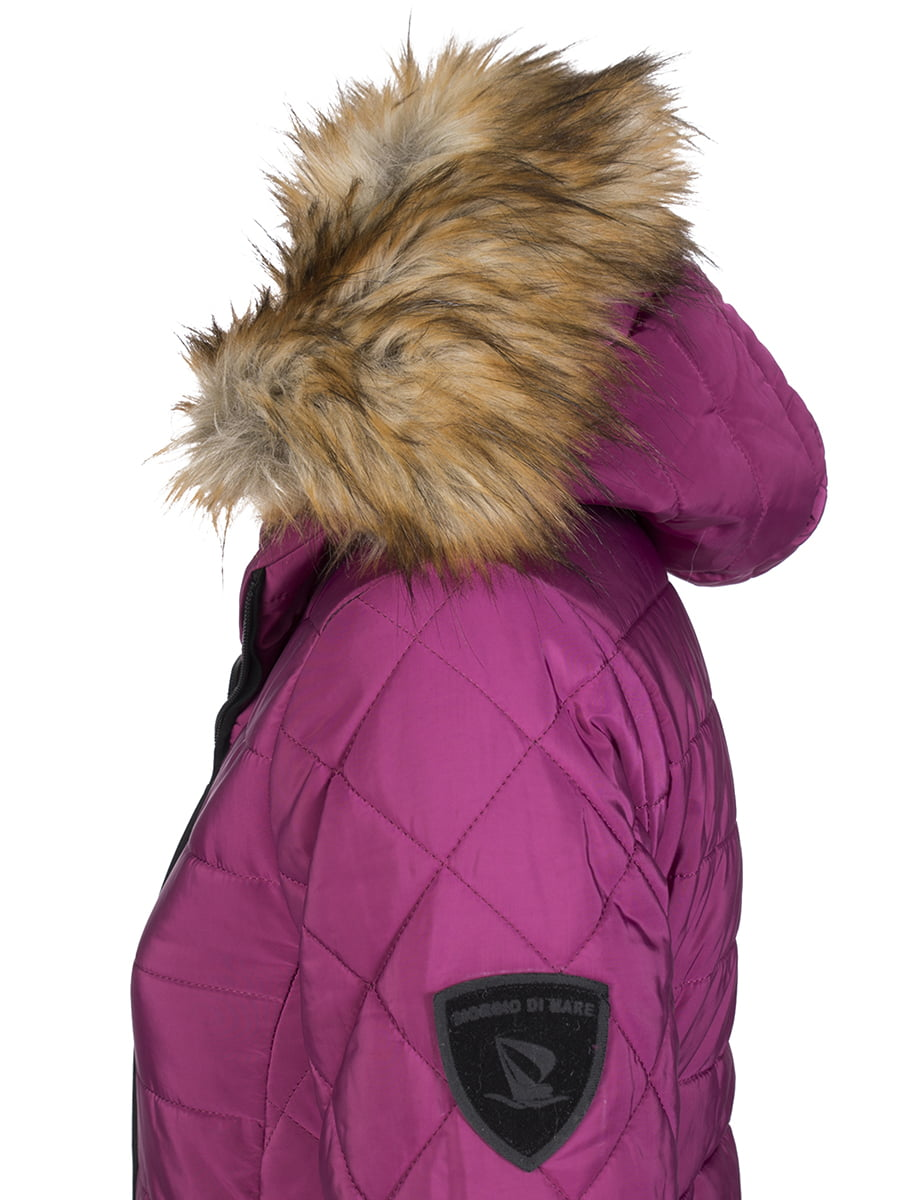 Пальто кольору фуксії | 4593015 | фото 3