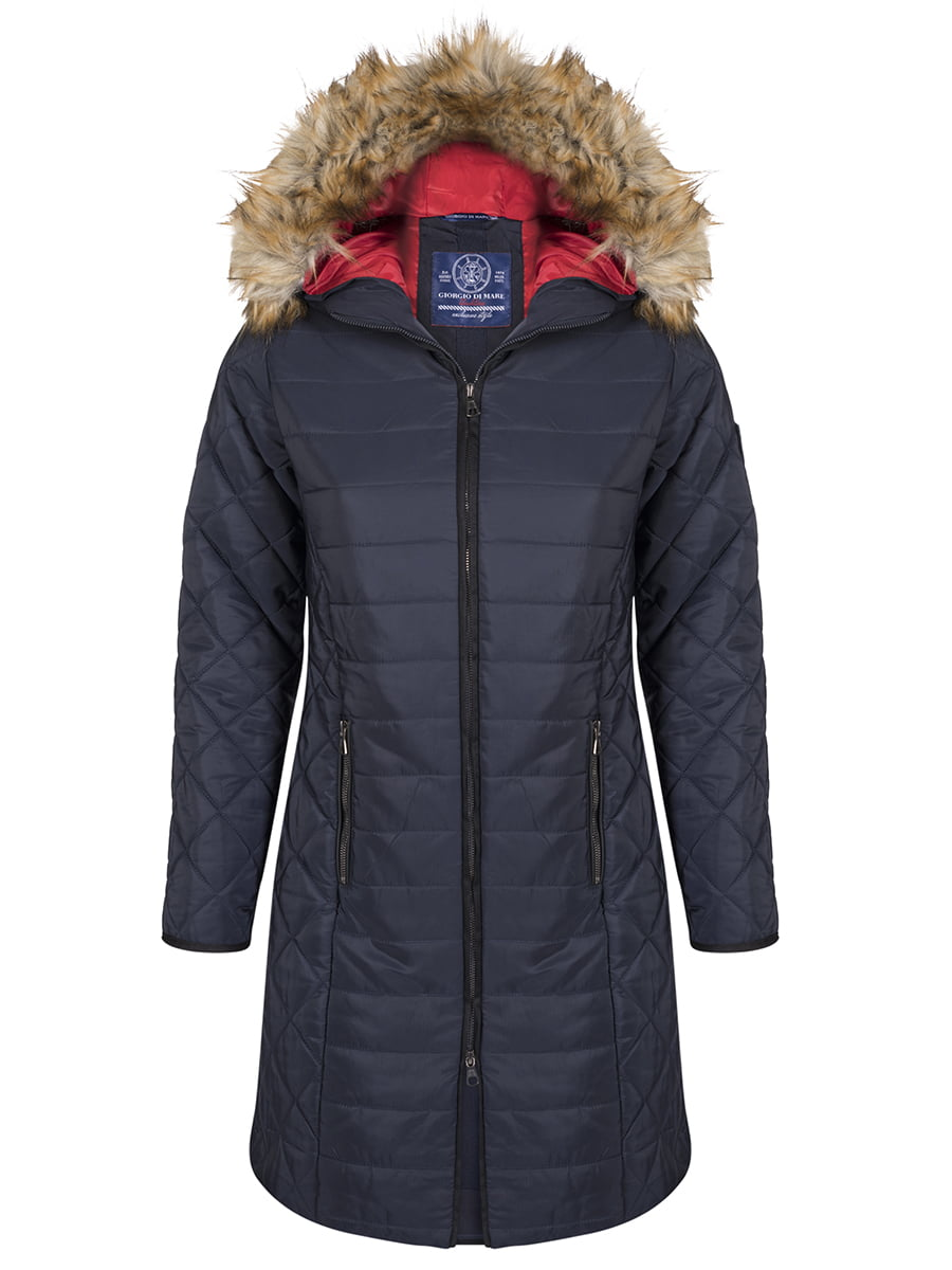 Пальто темно-синее | 4593017