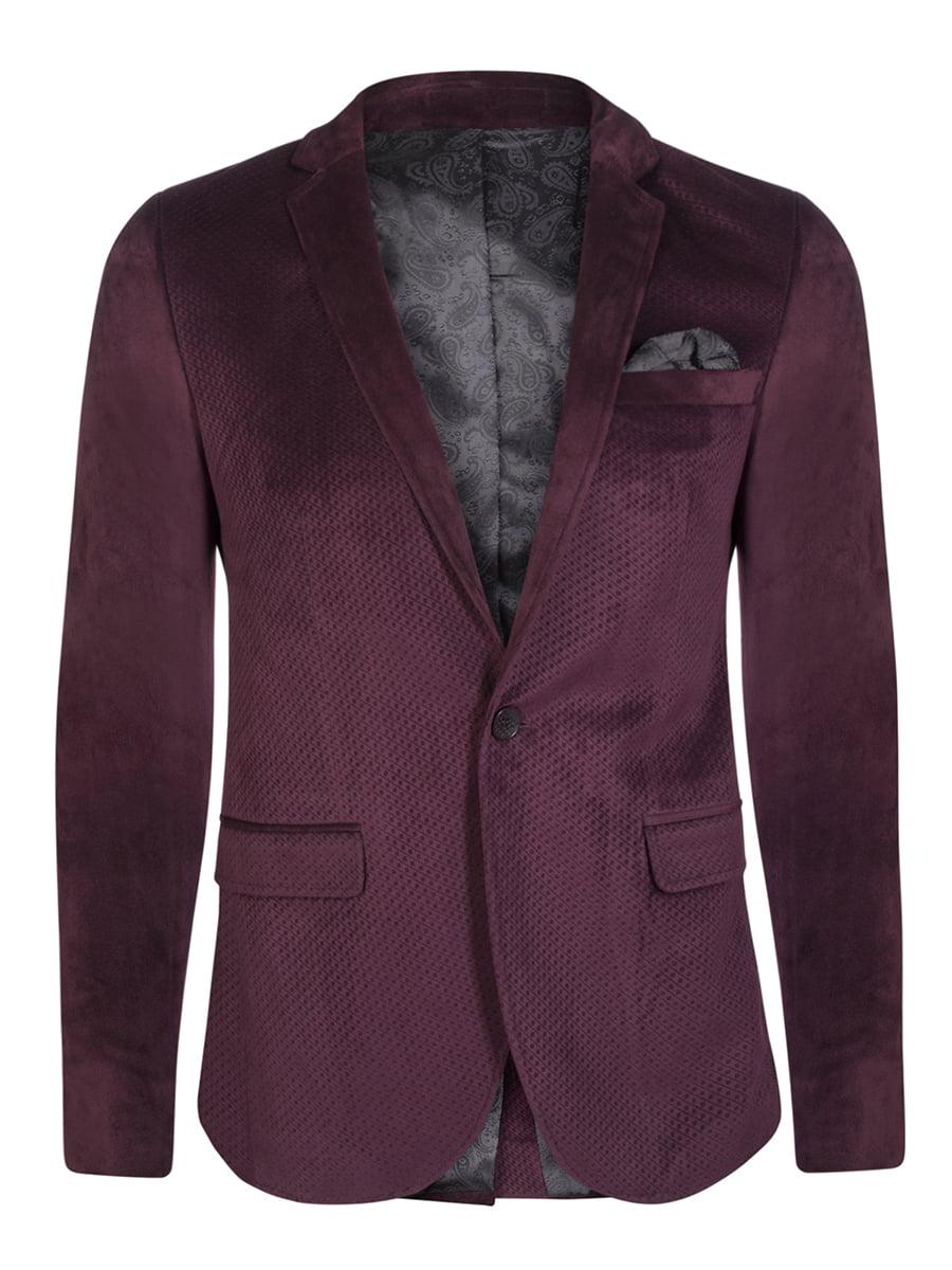 Піджак кольору марсала | 4649783