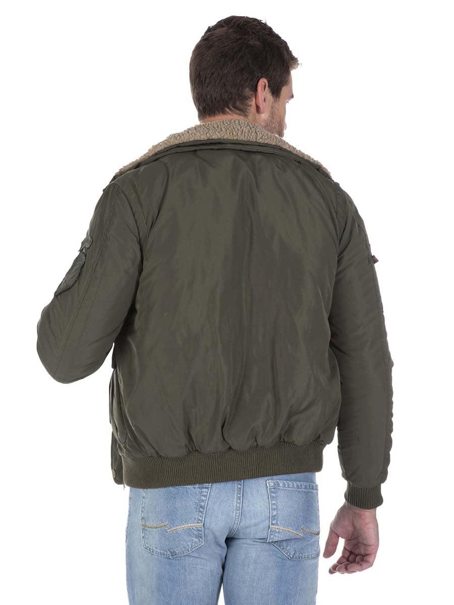 Куртка цвета хаки | 3420909 | фото 5