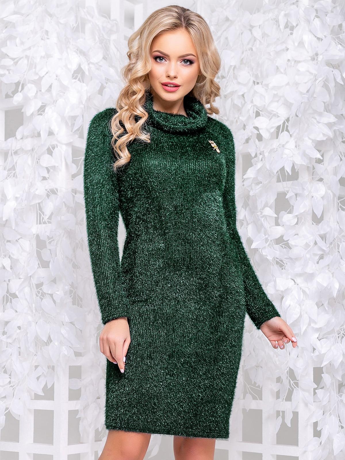 Платье зеленое | 4653839