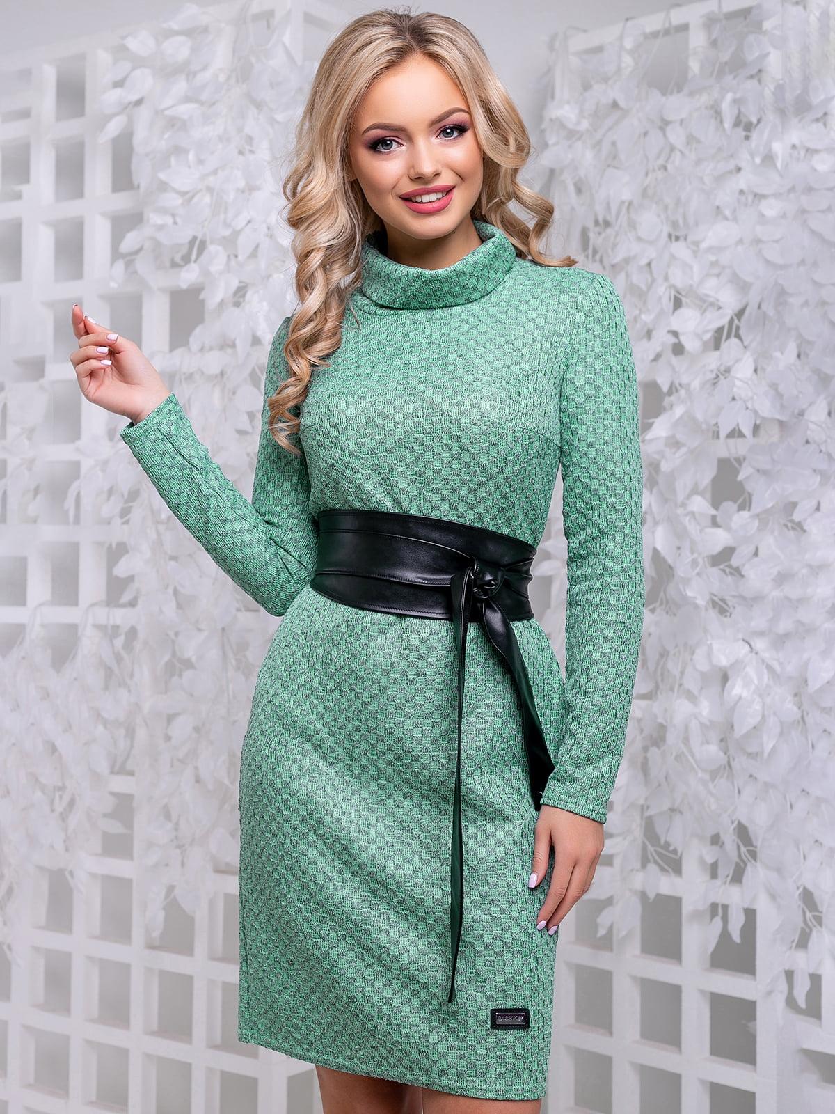 Платье зеленое | 4653850