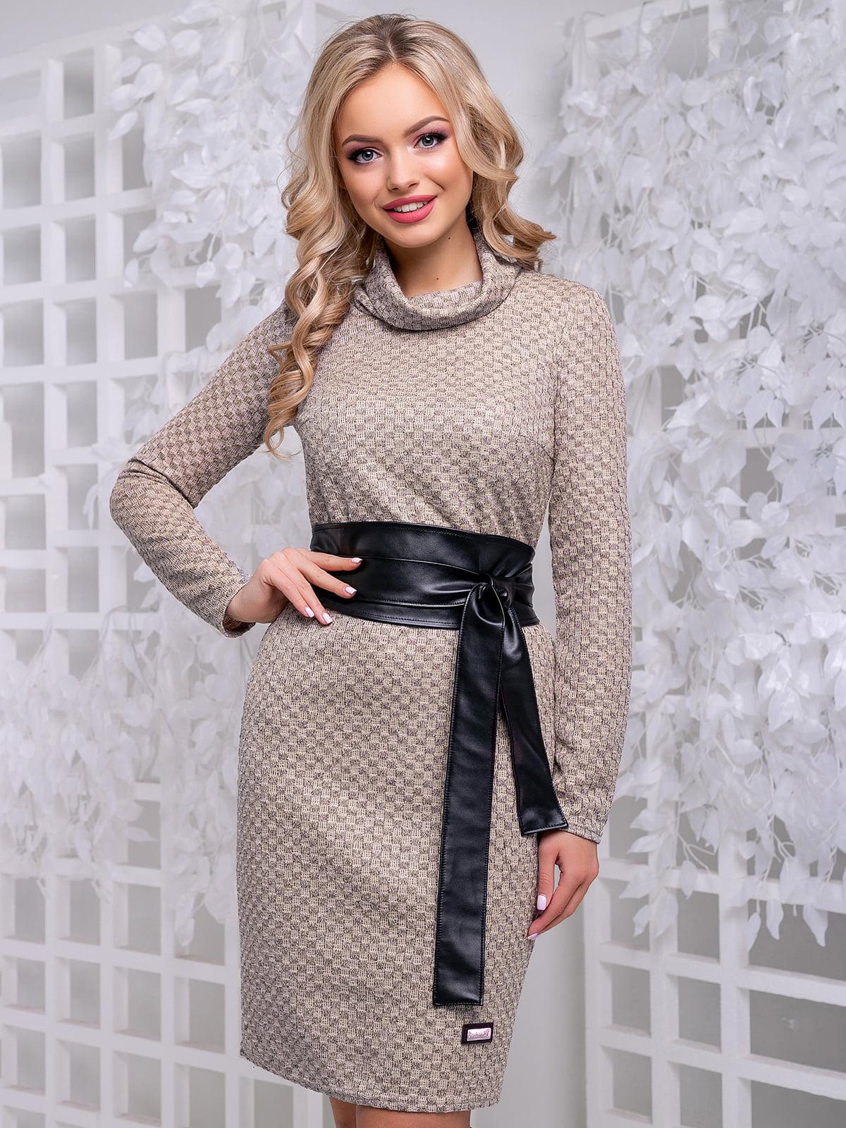 Сукня кавового кольору | 4653853