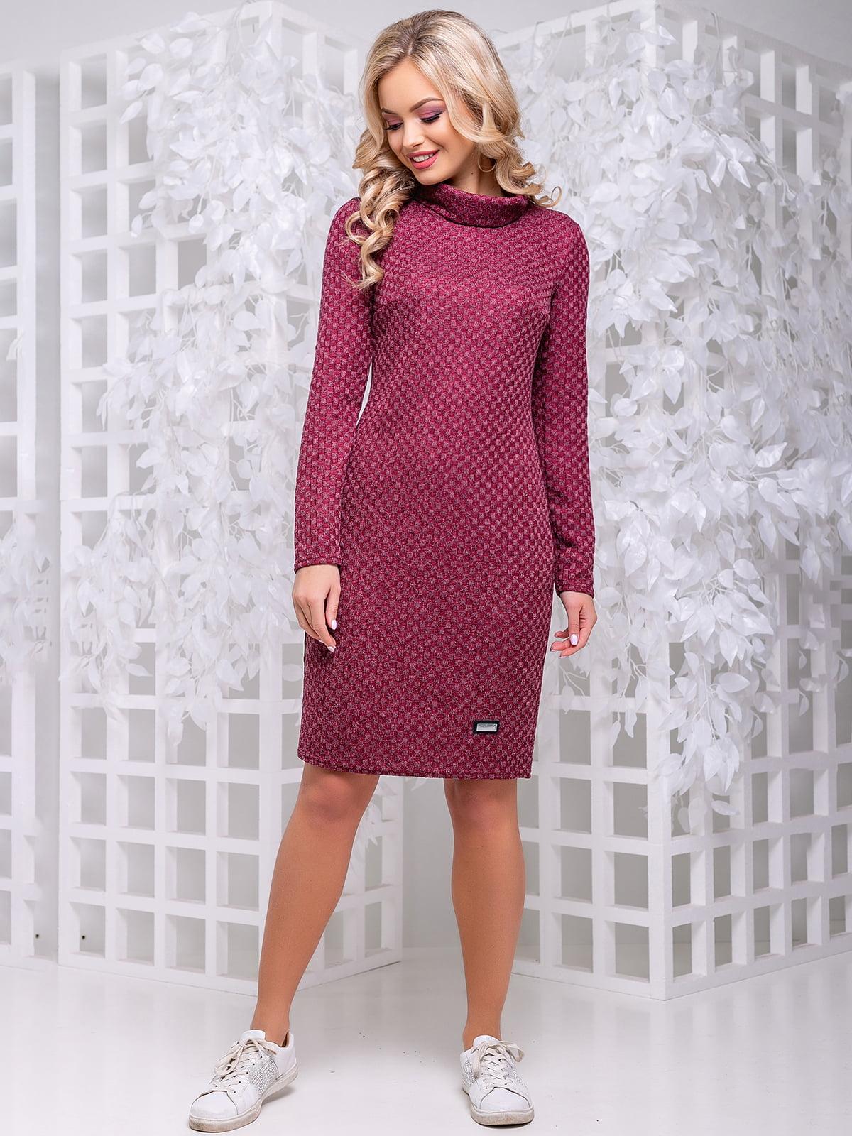 Платье цвета марсала | 4653858