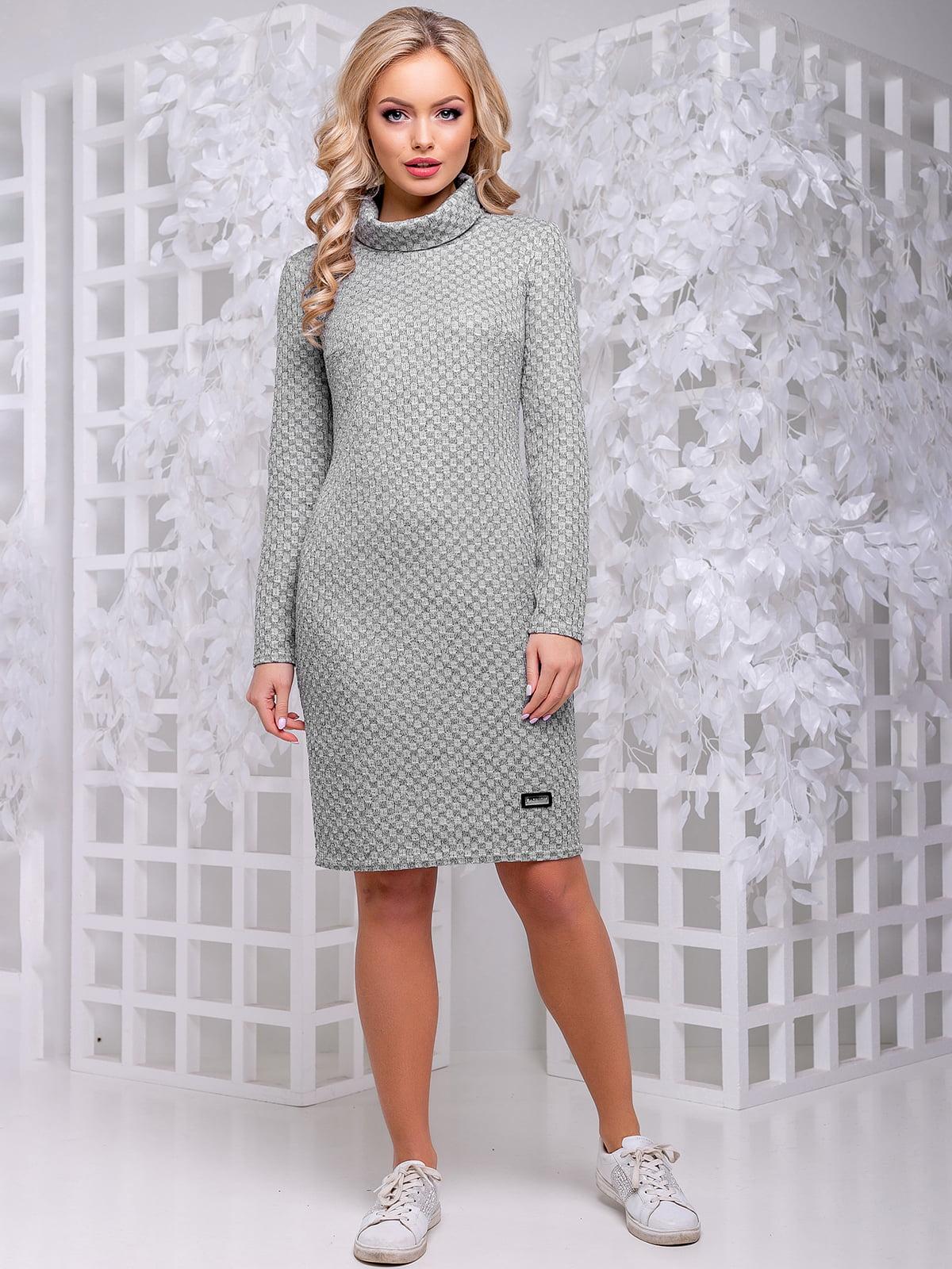 Платье серое | 4653859