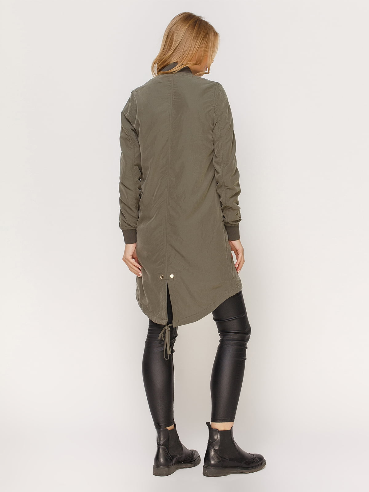 Куртка цвета хаки | 4606000 | фото 3